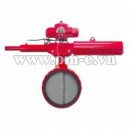 Angular stroke series- Butterfly valve