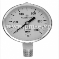 WISE Low Pressure Gauge With Nickel Plated Steel Case P440