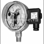WISE Euro Gauge Electrical Contact Type Pressure Gauge (Modular System) P510