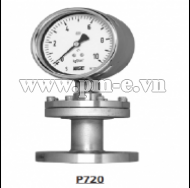 WISE Diaphragm Seal Type Pressure Gauge P720