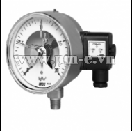 WISE Euro Gauge Electrical Contact Type Pressure Gauge P520