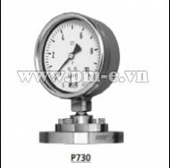 WISE Diaphragm Seal Type Pressure Gauge P730