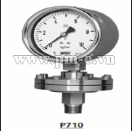 WISE Diaphragm Seal Type Pressure Gauge P710