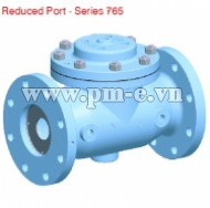 REDUCED PORT VALVE, SERIES 765