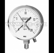 WISE PAPER TEST PRESSURE GAUGE MODEL P119 SERIES