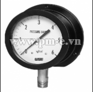 SAFETY PATTERN PRESSURE GAUGE SOLID-FRONT TURRET STYLE THERMOPLASTIC CASE MODEL : P359 SERIES