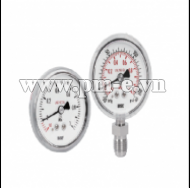 WISE Ultra High Purity Pressure Gauge (EP grade) P810