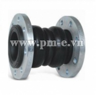 TWIN SPHERE RUBBER JOINT WITH FLANGE ENDS